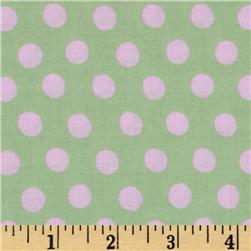 Kaffe Fassett Collective Spot Mint Fabric