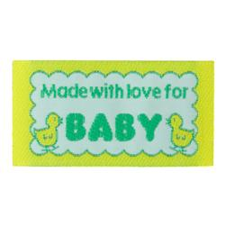 LaMode Lovelabels Made With Love For Baby