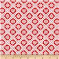 Winter Essential IV Small Diamond Red