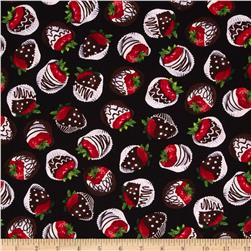 Chocoholic Chocolate Strawberries Black