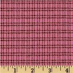 Aunt Polly's Flannel Plaid Pink/Brown