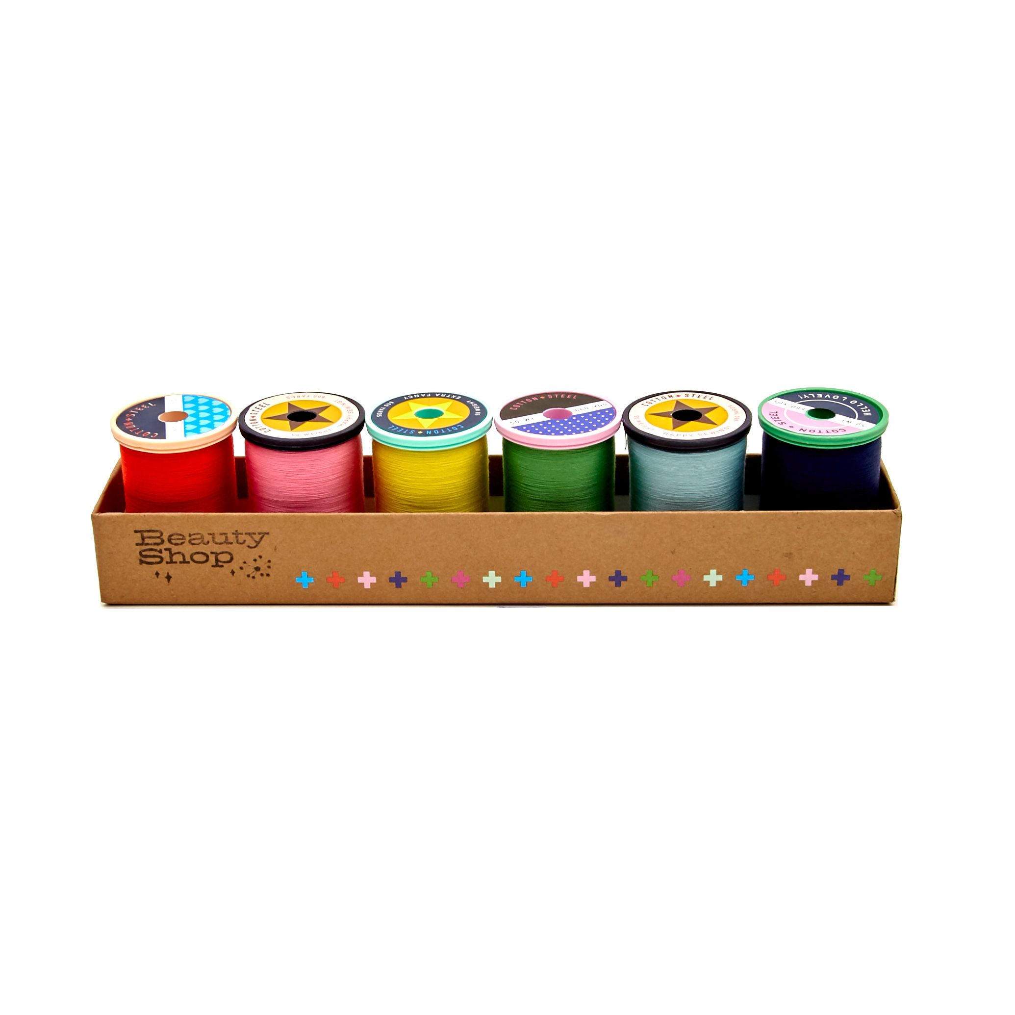 Image of Cotton + Steel 50wt. Cotton Thread Set by Sulky-Beauty Shop