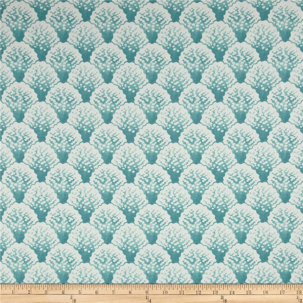 Home Accents Coral Line Seafoam
