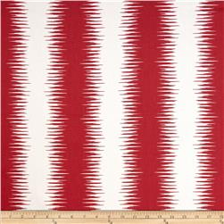 Premier Prints Jiri Stripe Carmine Red Fabric