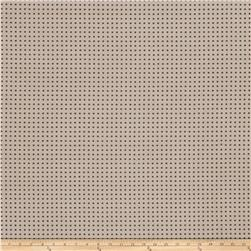 Fabricut Perforated Faux Suede Truffle