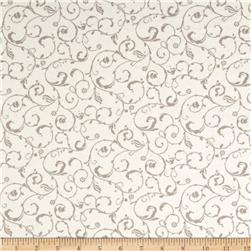 Moda Lily & Will Revisited Flannel Swirls Cream/Gray