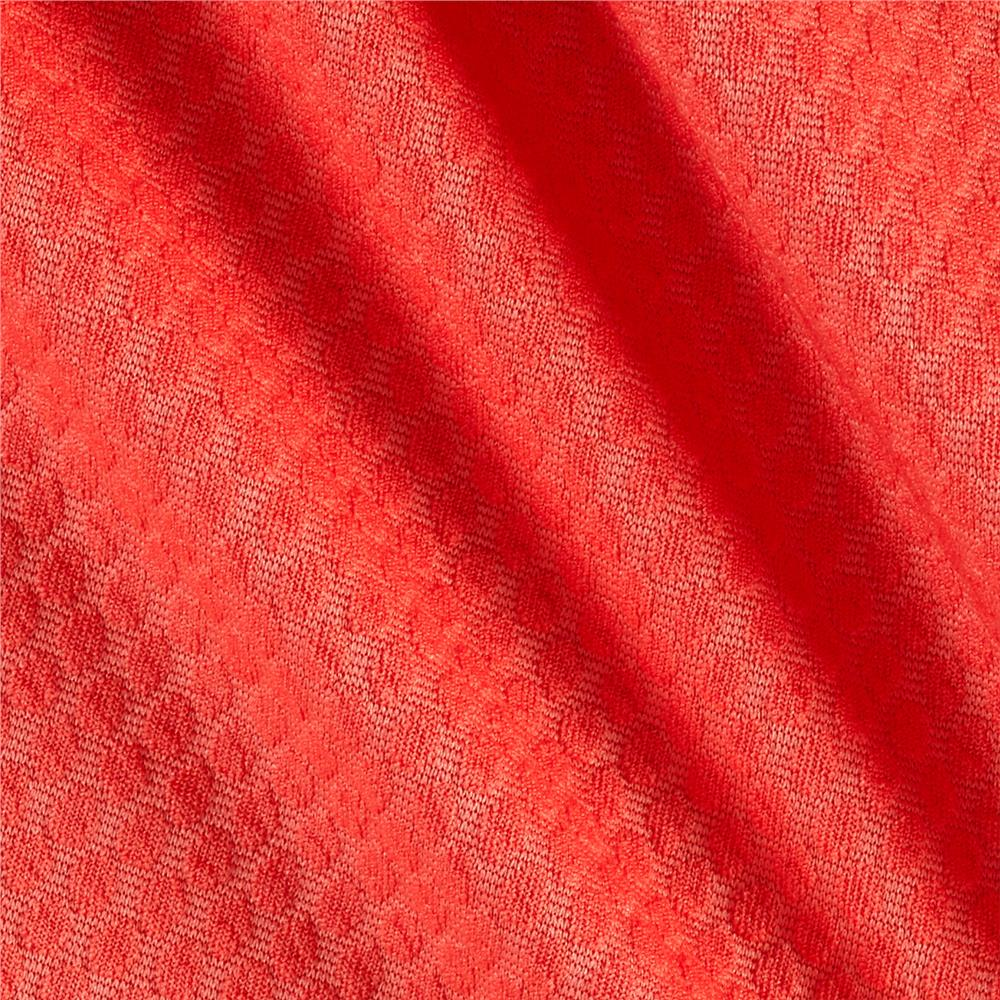 Honeycomb Double Knit Coral