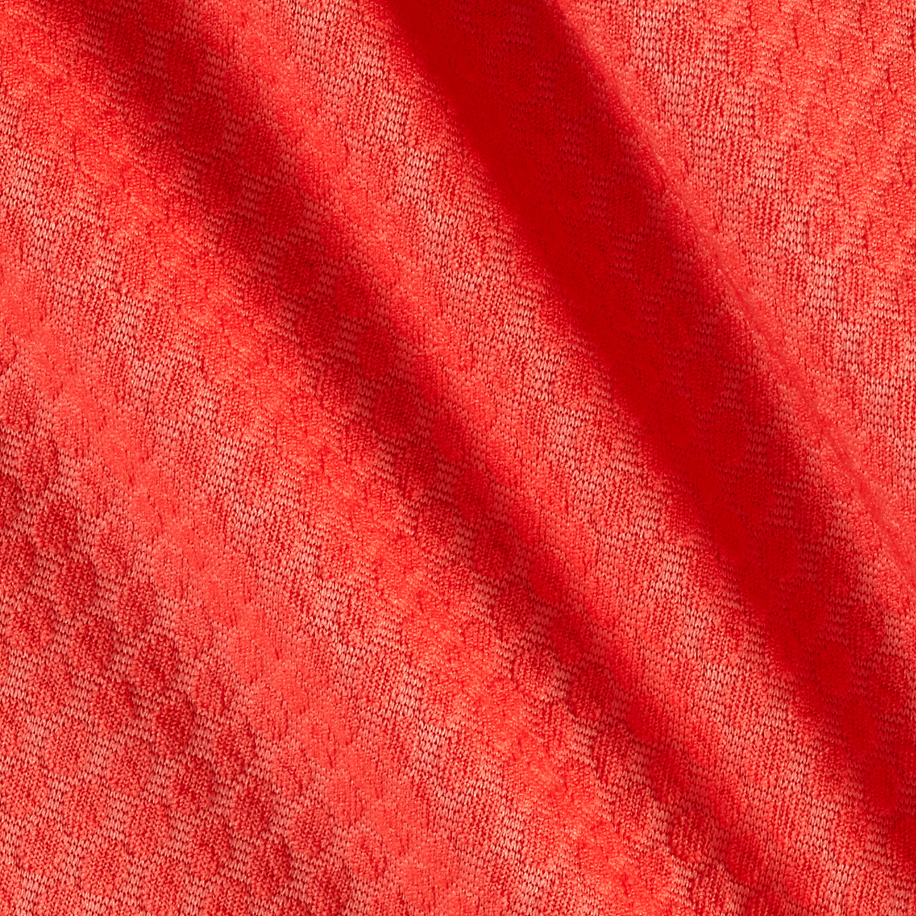 Honeycomb Double Knit Coral Fabric by Neiman in USA