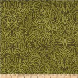 Northern Exposure Damask Olive