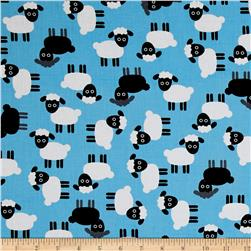 Kaufman Urban Zoology Sheep Blue