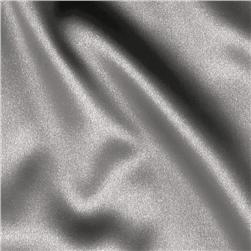 Tahari Stretch Satin Silver Fabric