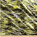 Charmeuse Satin Crackle Grey/Yellow