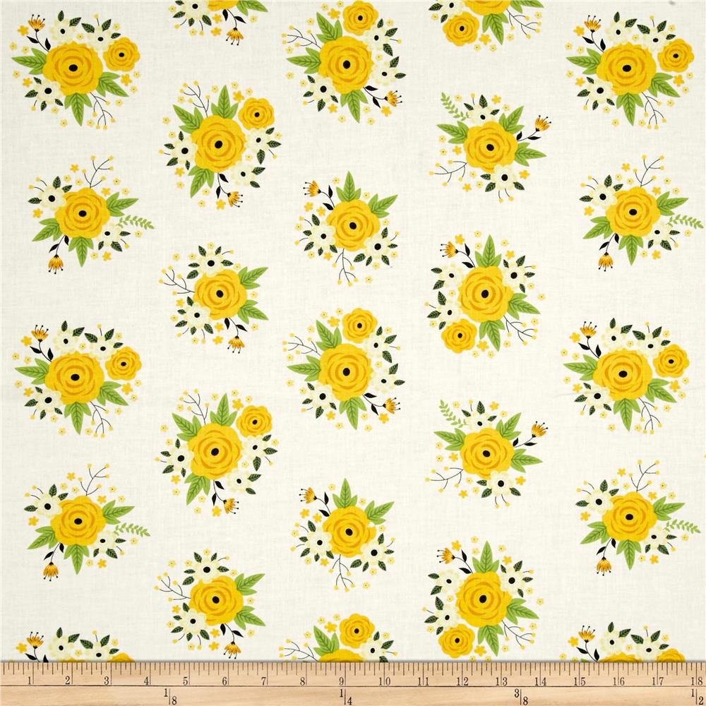 Bright Side Floral White