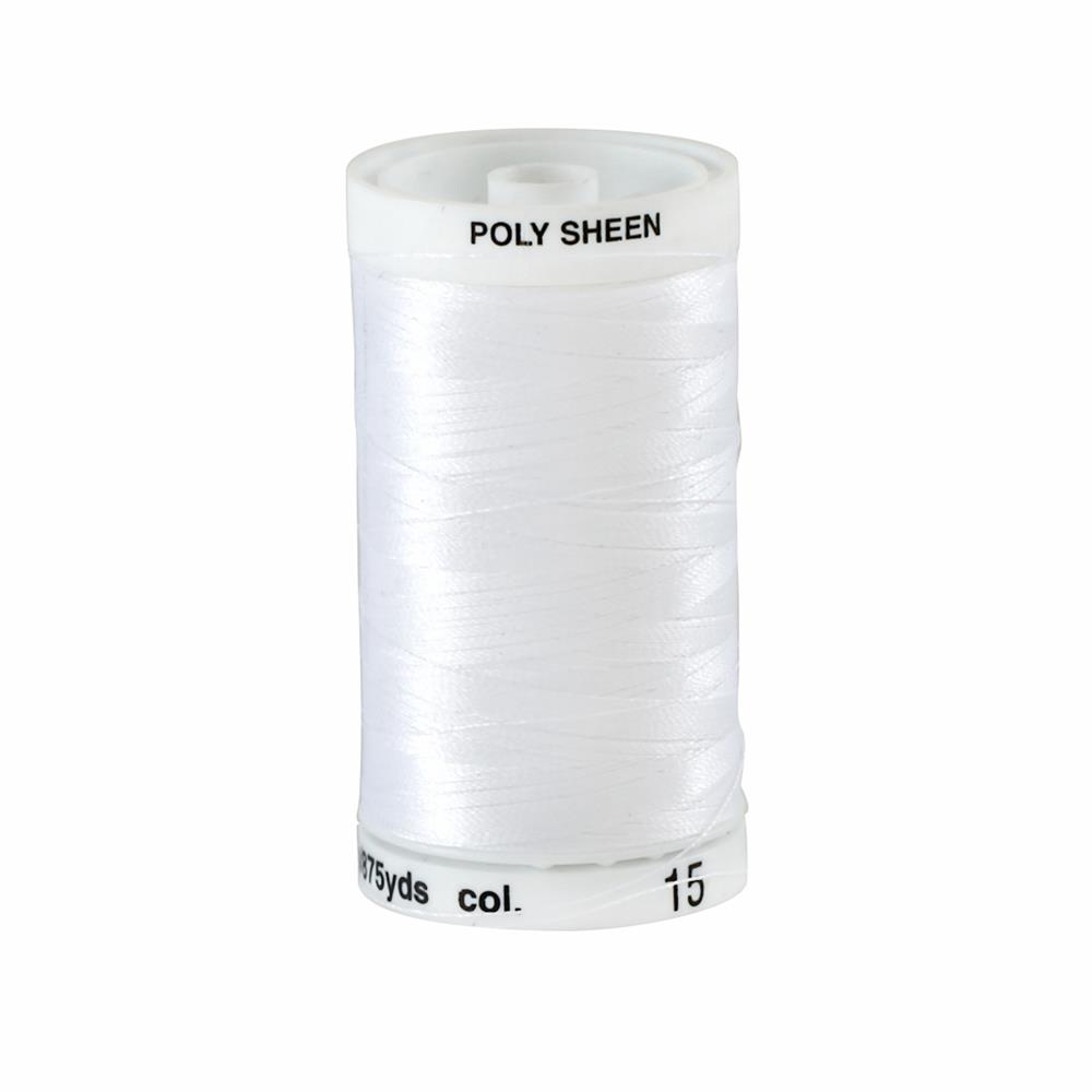 Mettler Polysheen Thread 875yds White