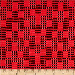 Telio Pixel Lace Double Knit Red