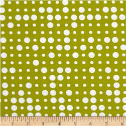 Moda Reel Time Dots Chartreuse