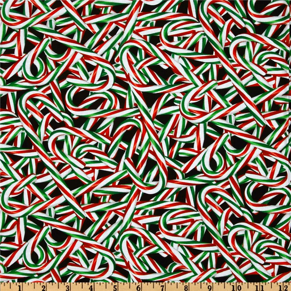 Kanvas Peppermint Twist Candy Cane Red/Green