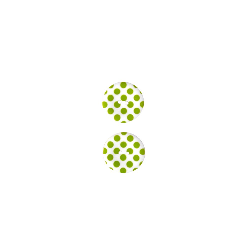 Riley Blake Sew Together 1 1/2 Matte Button Dots Lime