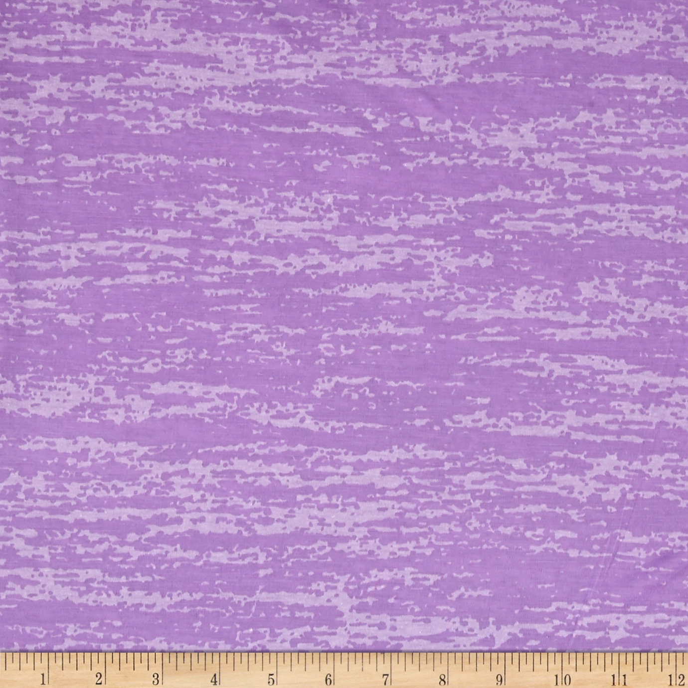 Splash Burnout Jersey Knit Lavender Fabric by Stardom Specialty in USA