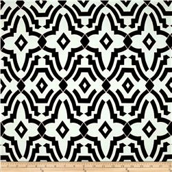 Premier Prints Chevelle Slub Shadow Black Fabric