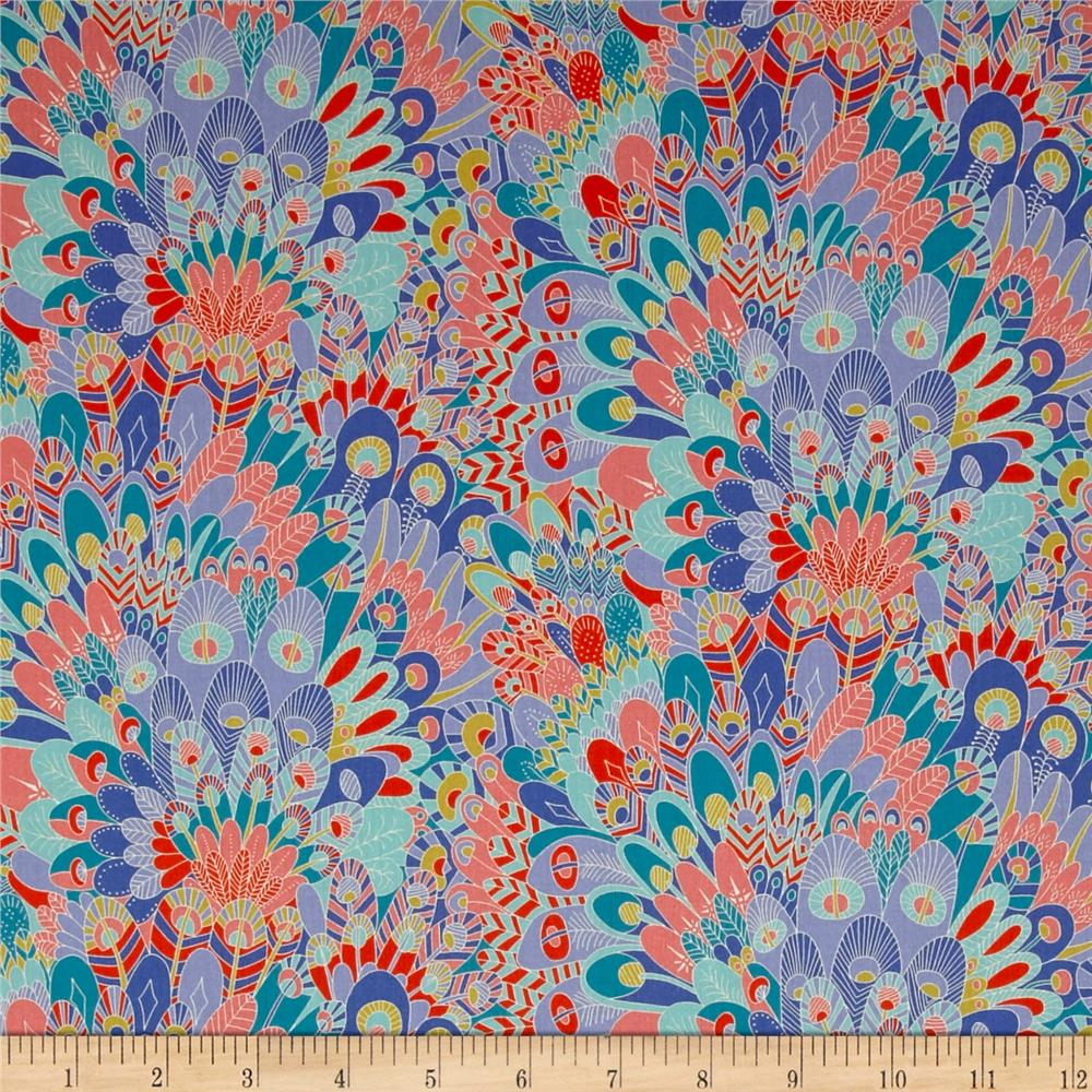 Liberty of London Contemporary Classic Tana Lawn Eben Pink/Blue