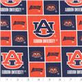 Collegiate Cotton Broadcloth Auburn University Tigers