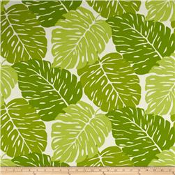 Terrasol Indoor/Outdoor Rainforest Leaves Green