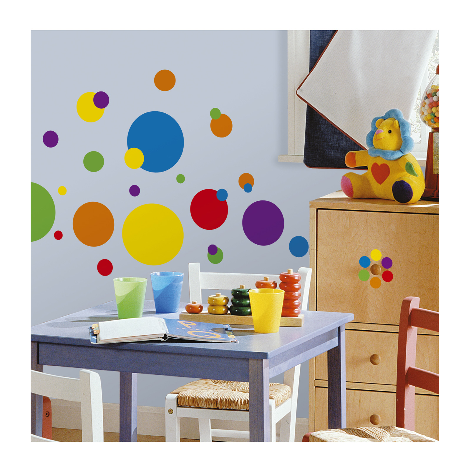 Just Dots Wall Decals/Colors by Stardom Specialty in USA