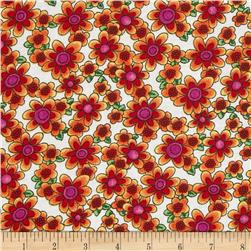 Newcastle Novelties Summer Bouquet Yellow Fabric