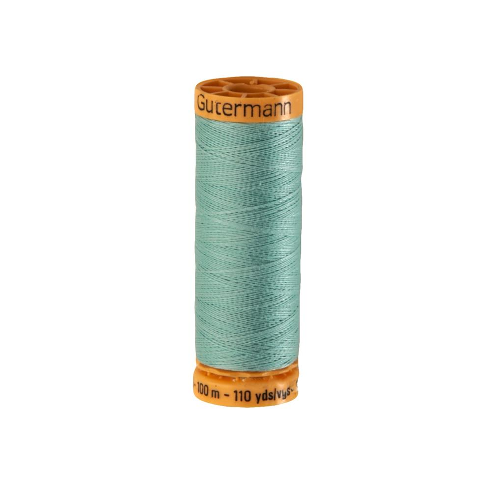 Gutermann Natural Cotton Thread 100m/109yds Light Green