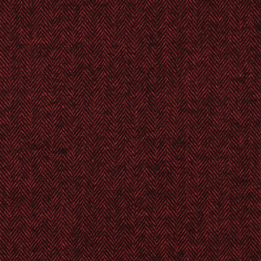 Kaufman Shetland Flannel Herringbone Redwood Fabric By The Yard
