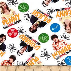 The Big Bang Theory Cast & Elements White/Multi