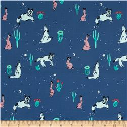 Cotton & Steel Mesa Spirit Animal Navy