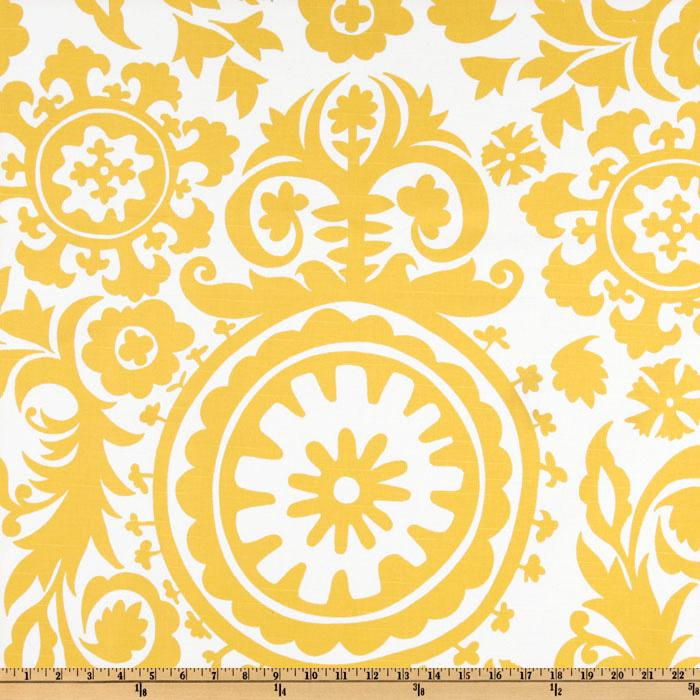 yellow, damask, fabric.com