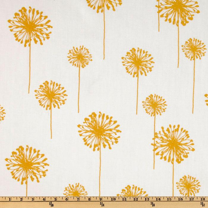 Premier Prints Indoor/Outdoor Dandelion White/Yellow
