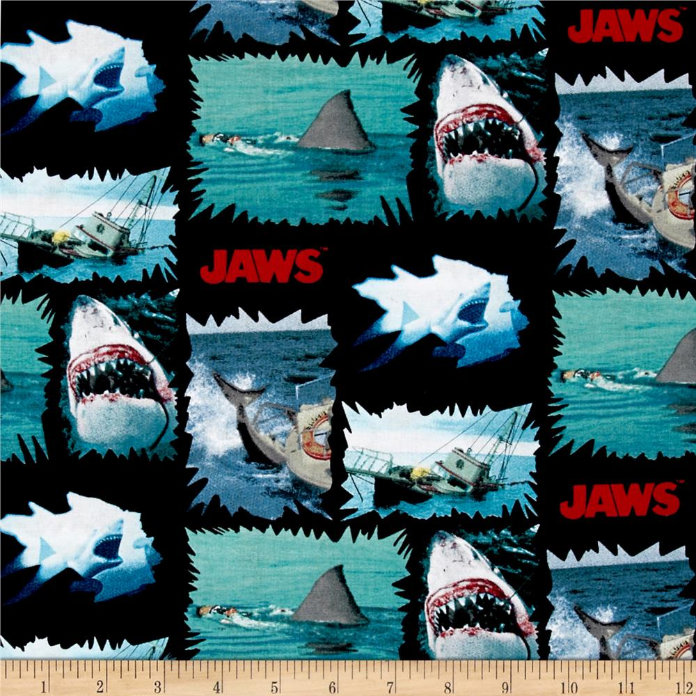 Universal Jaws Shark Torn Patches Multi