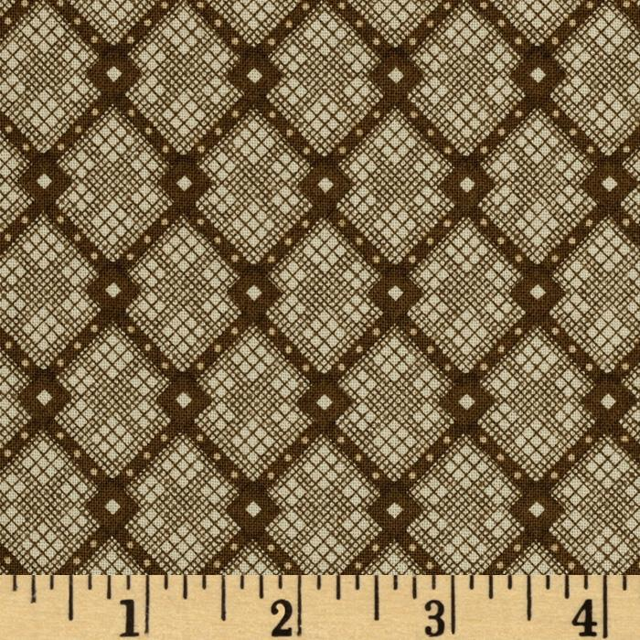 IQSC Birdsong Diamond Stripe Brown