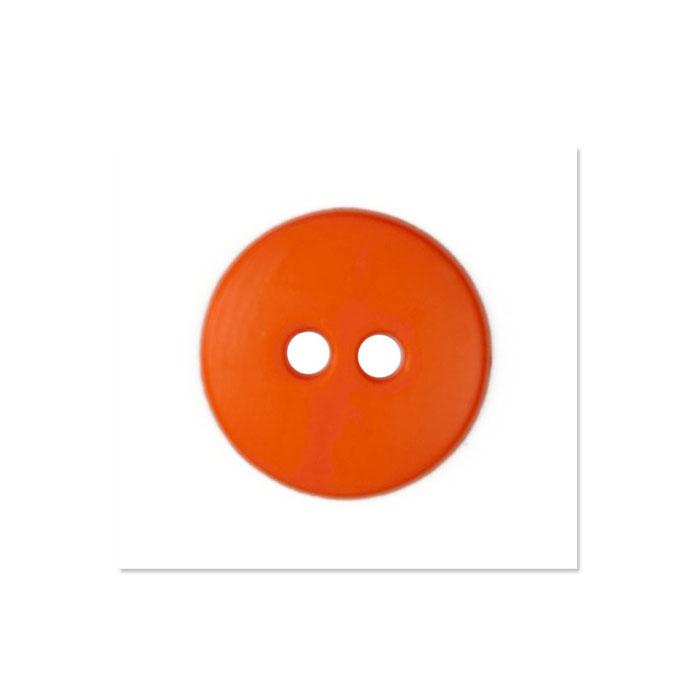 Colors by Favorite Findings 5/8'' Buttons 20/Pack Orange