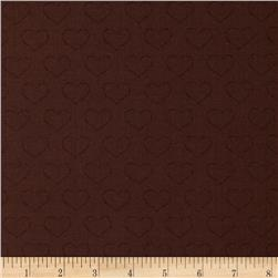 Chocoholics Heart Tonal Brown