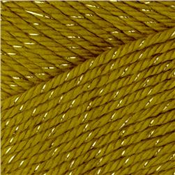 Bernat Satin Sparkle Yarn Olive Oil