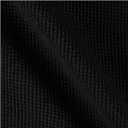 Heavyweight Thermal Knit Jet Black
