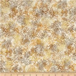 Robert Kaufman Shades of the Season Metallic Branches Autumn