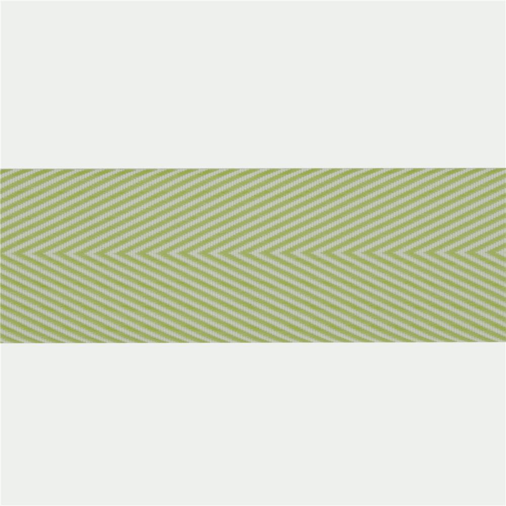 1 1/2'' Twill Tape Chevron Celery