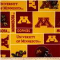 Collegiate Fleece University of Minnesota Maroon