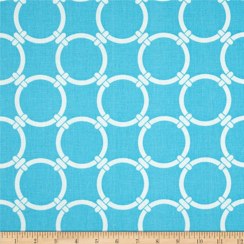 Premier Prints Linked Sky Blue