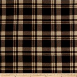 Polar Fleece Plaid Brown/Khaki