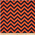 Premier Prints ZigZag Navy/Orange