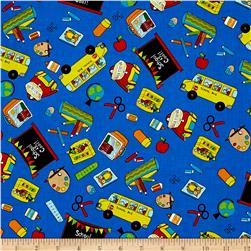School Rules! School Motifs Blue