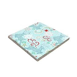 "Contempo Nordic Holiday 10x10"" Precut"