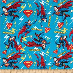 Superman Flashing Lights Blue/Multi